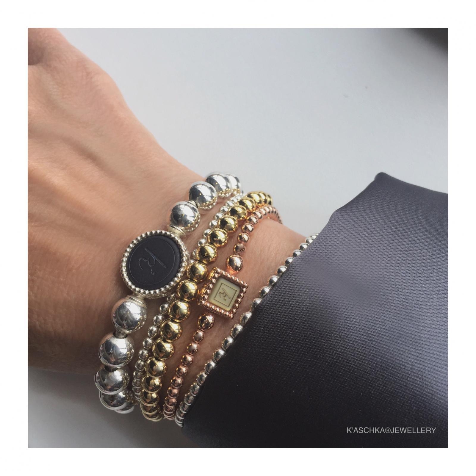 Flexibele 925 sterling zilveren wisselbare armband deluxe Flexibele 925 sterling zilveren armband kasminis