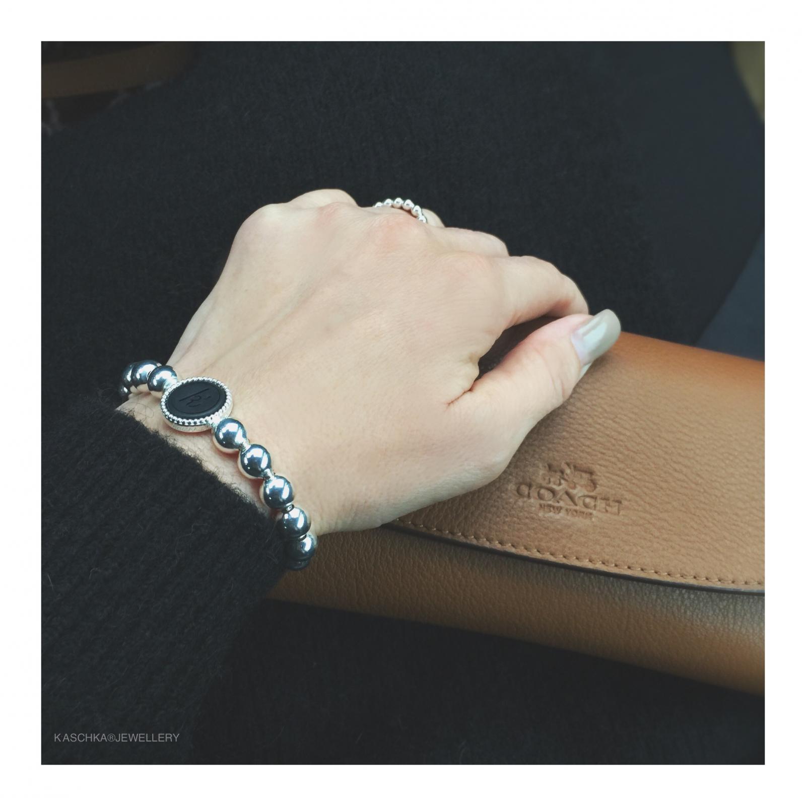 Flexibele 925 sterling zilveren wisselbare armband deluxe large