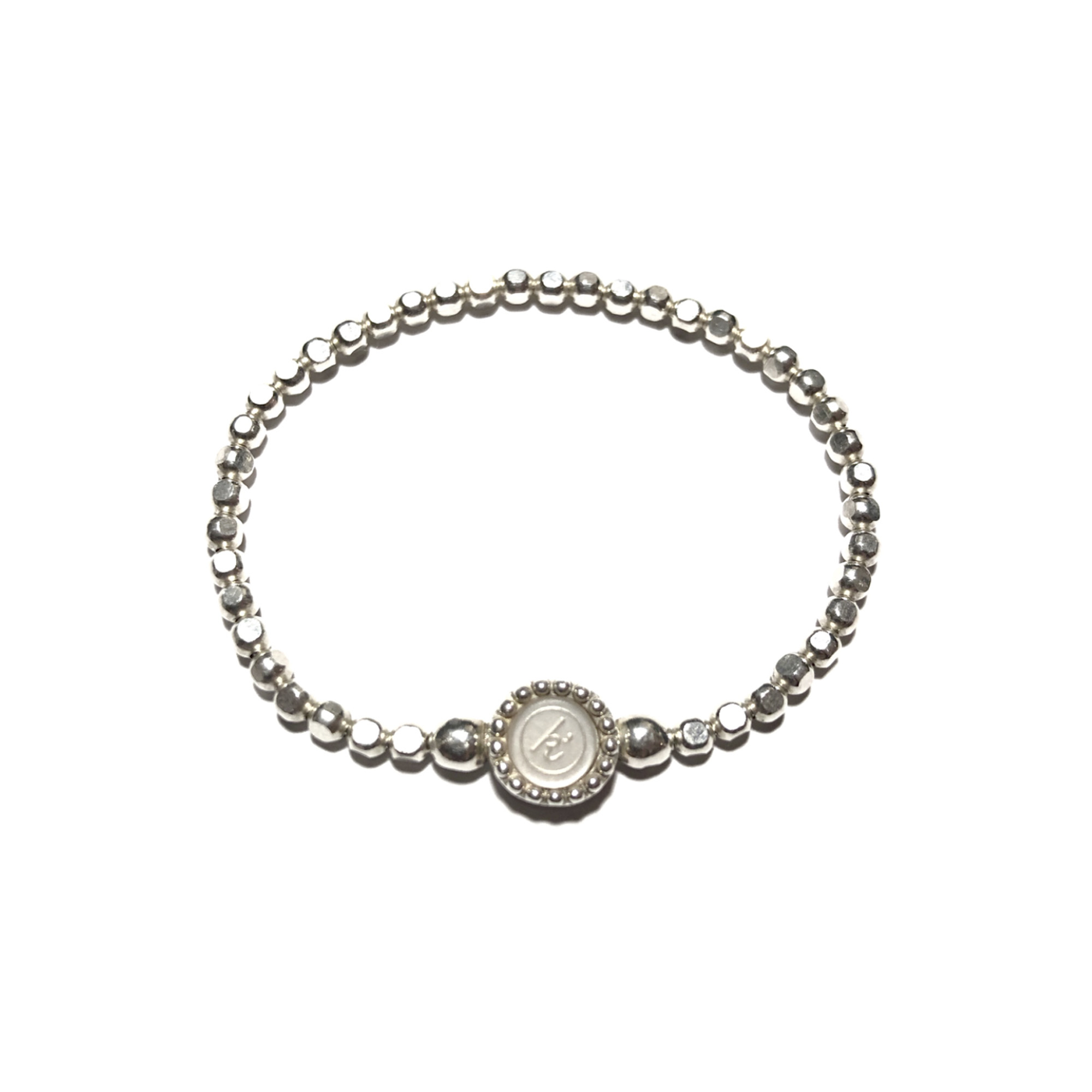 925 sterling zilveren flex armband diamant cut ronde kasminis