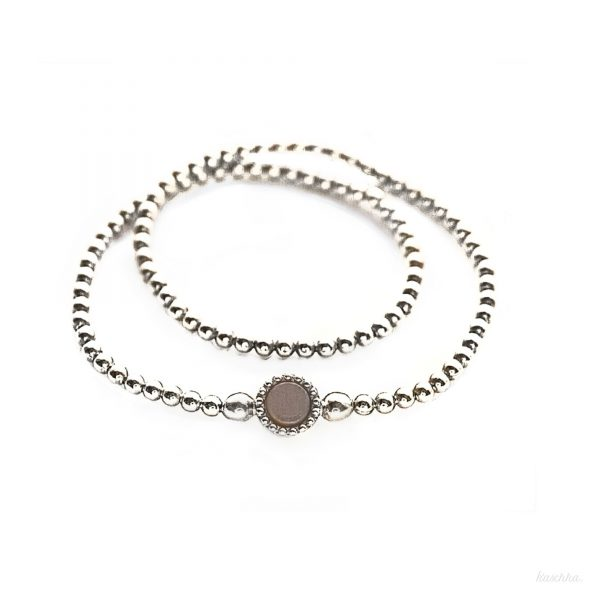 925 sterling zilver long flex armband
