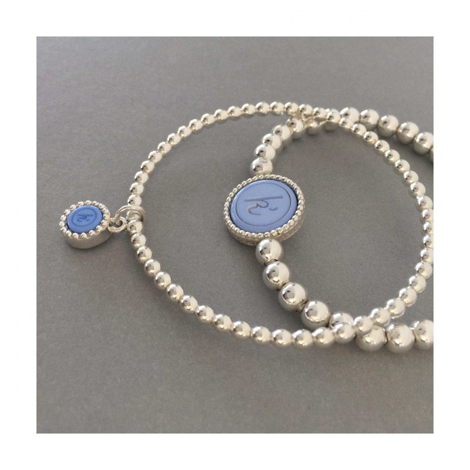 Flexibele 925 sterling zilveren wisselbare armband. Flexibele 925 sterling zilveren armband met kasminis hange