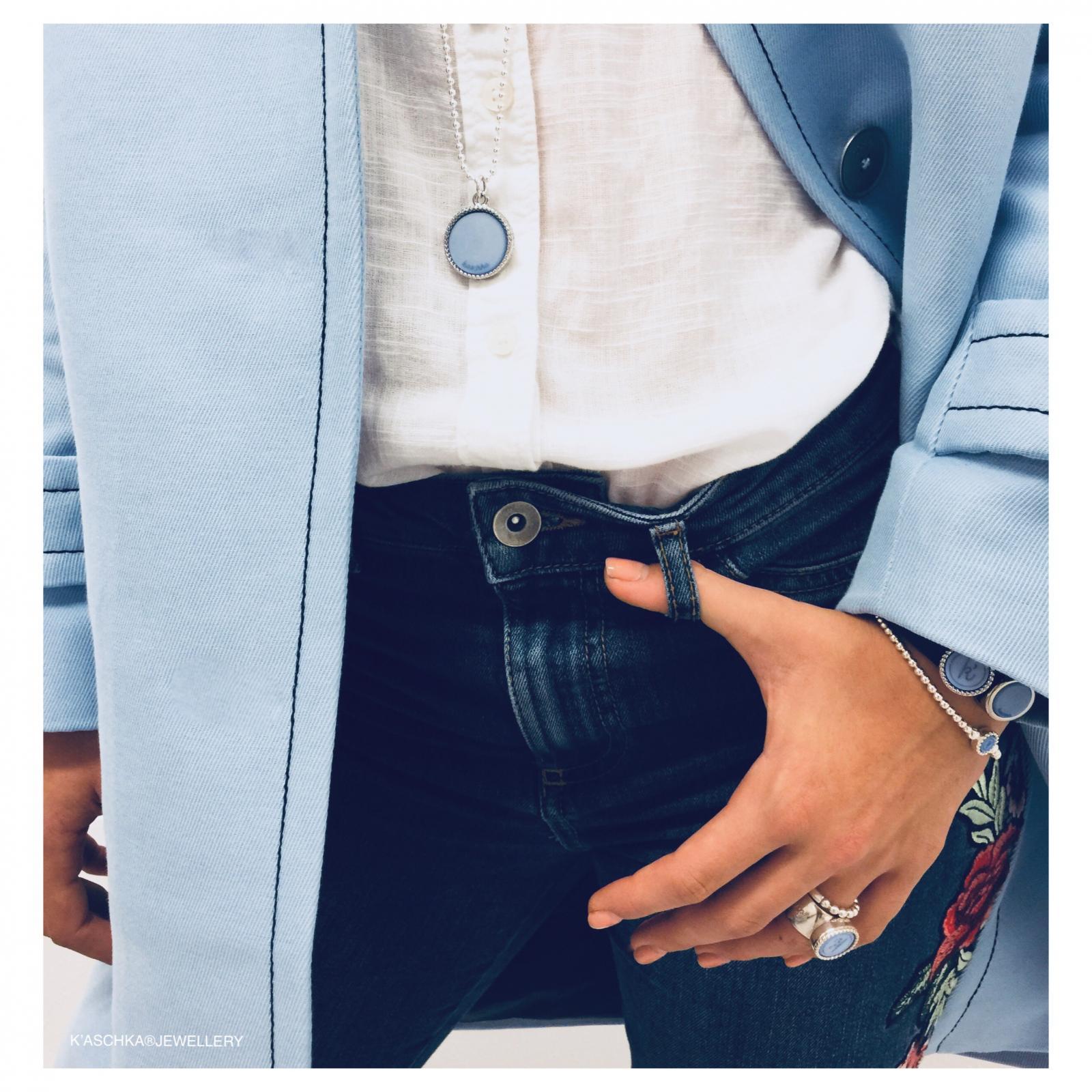 Wisselbare 925 sterling zilveren ketting Flexibele 925 sterling zilveren ring Flexibele 925 sterling zilveren armband Wisselbare 925 sterling zilveren ring Leren armband navy 925 sterling zilveren schuiver