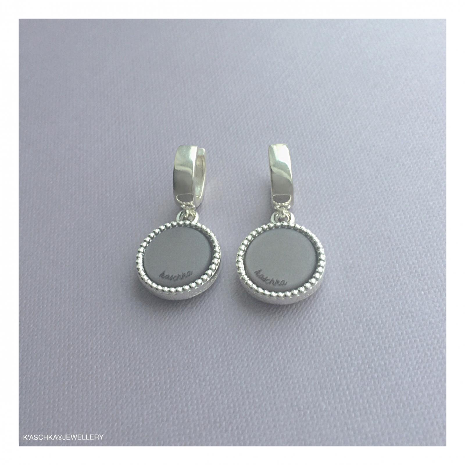 925 sterling zilveren wisselbare oorbellen maat midi