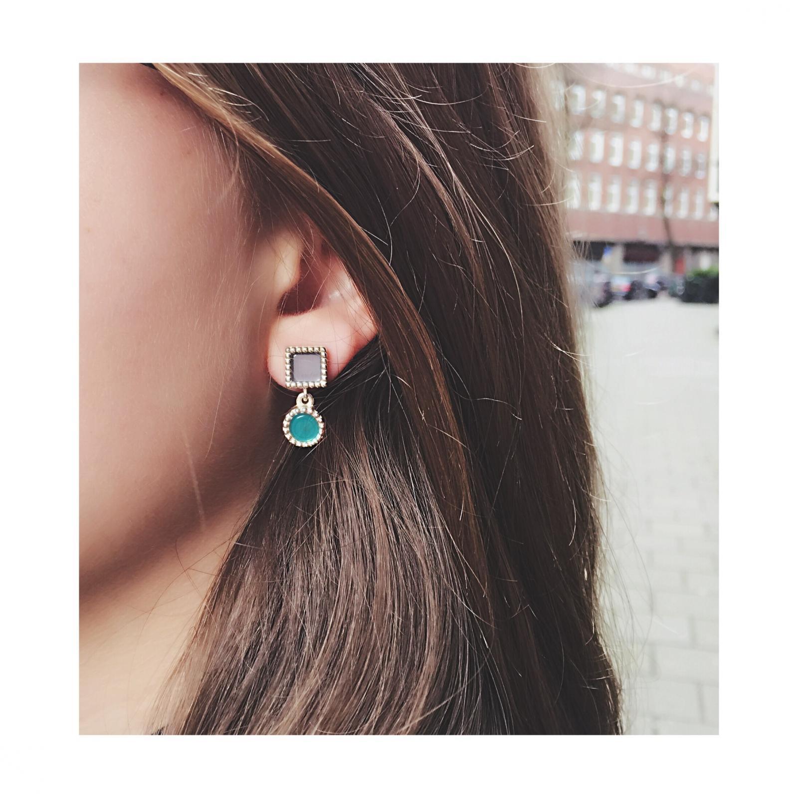 925 Sterling zilveren duo oorbellen