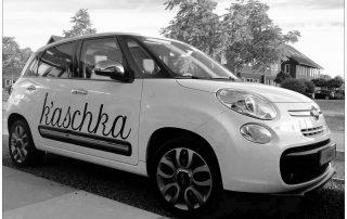 De enige originele k'aschka auto