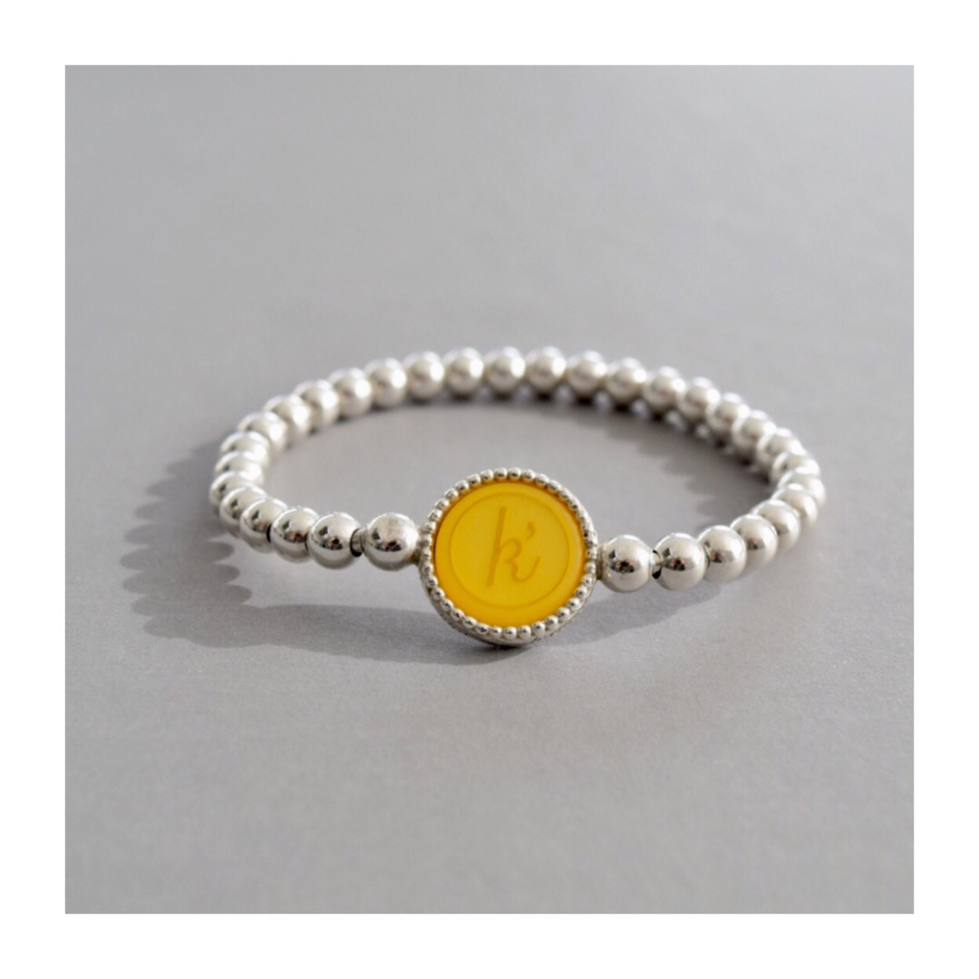 Flexibele 925 sterling zilveren armband deluxe maat midi met wisselbare inlay