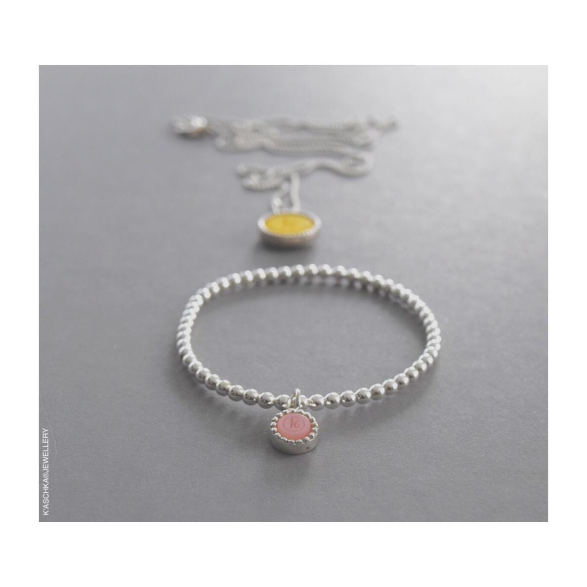 Flexibele 925 sterling zilveren armband met kasminis hanger Wisselbare 925 sterling zilveren ketting midi