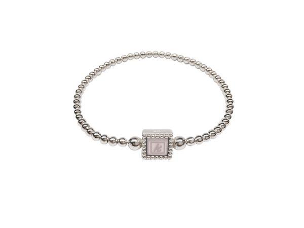 925 sterling zilveren flex armband vierkante kasminis