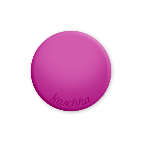 Inlay fuchsia naamlogo