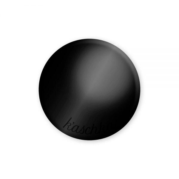 Inlay glossy zwart midi naamlogo