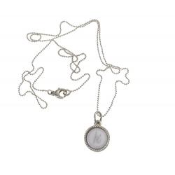 925 sterling zilveren wisselbare ketting inlay midi grijs