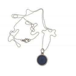 925 sterling zilveren wisselbare ketting inlay midi navy