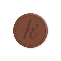 Inlay bruin large k