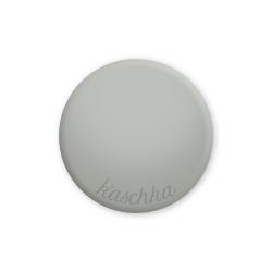 Inlay mid grey large naamlogo