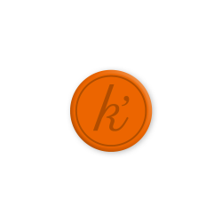 Inlay NL orange midi k'