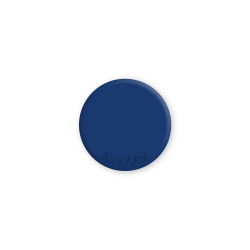 Inlay royalblauw midi naamlogo