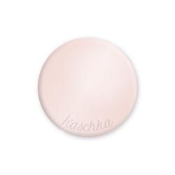 Inlay roze glossy large naamlogo
