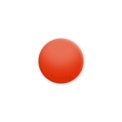 Inlay tomato red shine midi naamlogo