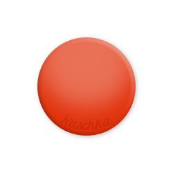 Inlay tomato red shine large naamlogo