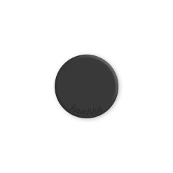 Inlay zwart midi naamlogo