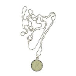 925 sterling zilver wisselbare ketting inlay large legergroen