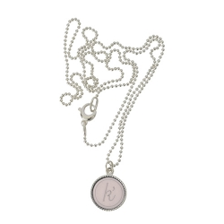 925 sterling zilver wisselbare ketting inlay large nude