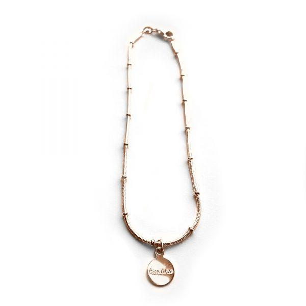 925 sterling zilver balletjes enkelbandje in zilver, goud of rose - Kaschka Jewellery