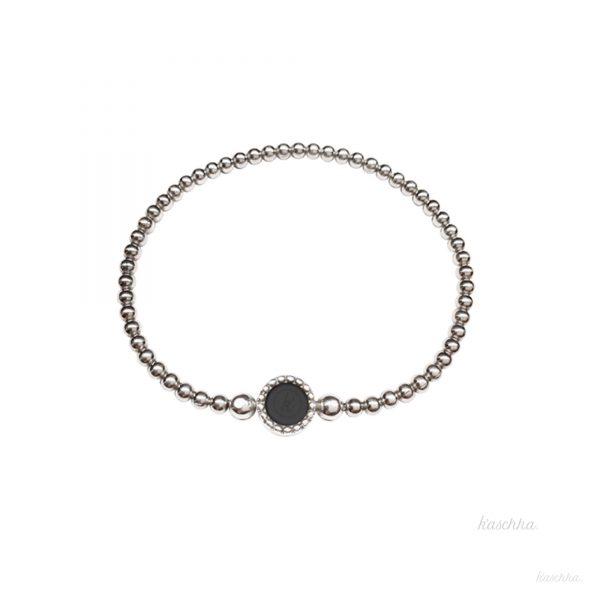 flex armband zilver