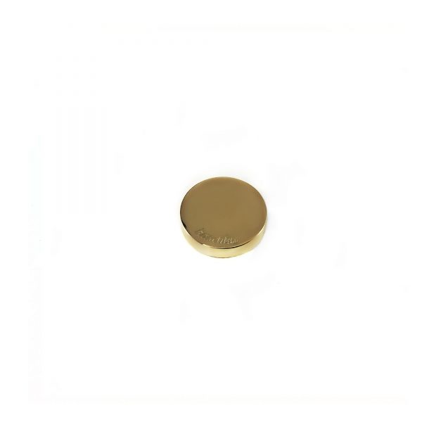 Steel deluxe inlay goud rond